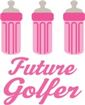 Future Golfer Baby T-shirts