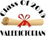 2015 Valedictorian School Class T-shirt Gifts