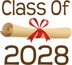 2028 School Class Diploma Design Gifts