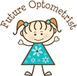 Future Optometrist Stick Girl Occupation T-shirts