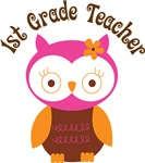 1st Grade Teacher Gift T-shirts and Mugs