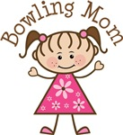 Bowling Mom T-shirt Gifts