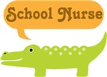 SCHOOL NURSE ALLIGATOR T-SHIRTS