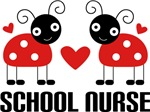 SCHOOL NURSE Ladybug Tee Shirts & Gifts