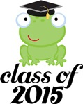2015 Graduation Frog Gifts and Tshirts