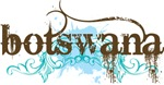 Botswana Grunge T-shirts and Hoodies