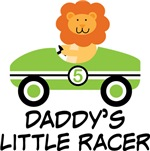 Daddy's Little Racer Kids Tee Shirts