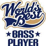 Worlds Best Bass Player Gifts