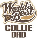 Collie Dad (Worlds Best) T-shirts