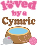 Loved By A Cymric Tshirt Gifts