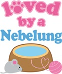 Loved By A Nebelung Cat T-shirts