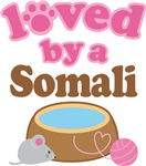 Loved By A Somali Tshirt Gifts