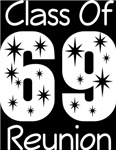 Class Of 1969 Reunion Tee Shirts