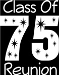 Class Of 1975 Reunion Tee Shirts