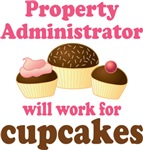 Property Administrator Chocolate Quote Tee Shirts