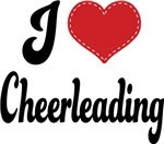 I Heart Cheerleading T-shirts and Gifts
