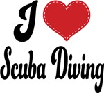 I Heart Scuba Diving T-shirts and Gifts