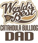 Catahoula Bulldog Dad (Worlds Best) T-shirts