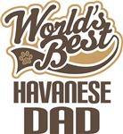Havanese Dad (Worlds Best) T-shirts