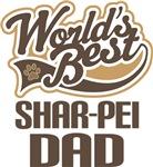Shar-Pei Dad (Worlds Best) T-shirts