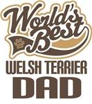 Welsh Terrier Dad (Worlds Best) T-shirts