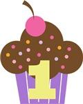 1st Birthday  Cupcake Teese