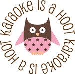 KARAOKE IS A HOOT OWL TEES AND GIFTS
