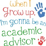 Future Academic Advisor Kids T-shirts