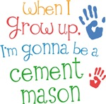 Future Cement Mason Kids T-shirts