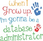 Future Database Administrator Kids T-shirts