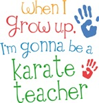 Future Karate Teacher Kids T-shirts