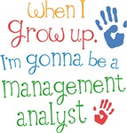 Future Management Analyst Kids T-shirts