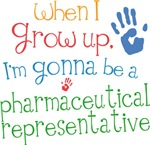 Future Pharmaceutical Representative Kids T-shirts