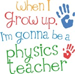 Future Physics Teacher Kids T-shirts