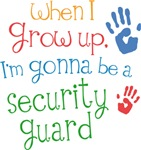 Future Security Guard Kids T-shirts