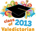 Valedictorian Colorful 2013 Graduate Gifts