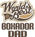 Boxador Dad (Worlds Best) T-shirts