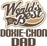 Doxie-Chon Dad (Worlds Best) T-shirts