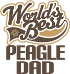 Peagle Dad (Worlds Best) T-shirts