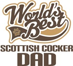 Scottish Cocker Dad (Worlds Best) T-shirts