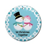 1ST CHRISTMAS TOGETHER ORNAMENTS