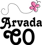 Arvada Colorado Butterfly T-shirts and Hoodies