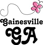 Gainesville Georgia Butterfly T-shirts and Hoodies