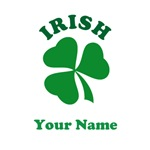 Personalized Irish Clover Tee Shirts