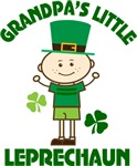 Grandpa's Little Leprechaun Shirts