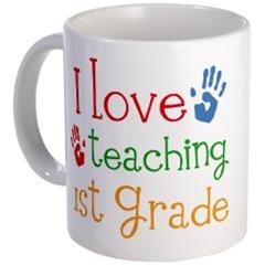 1ST GRADE TEACHER SHIRTS AND MUGS