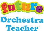 Future Orchestra Teacher Kids Music T-shirts