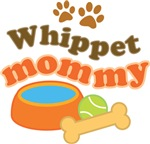 Whippet Mommy Pet Mom Gifts and T-shirts