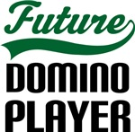 Future Domino Player Kids T Shirts