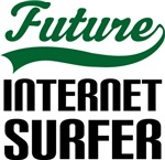 Future Internet Surfer Kids T Shirts